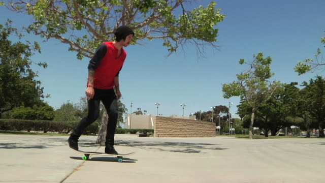 skateboard kickflip video