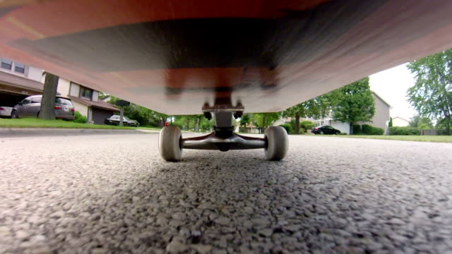 Skateboard Point of View video