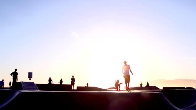 Skateboard Super Slow Motion video