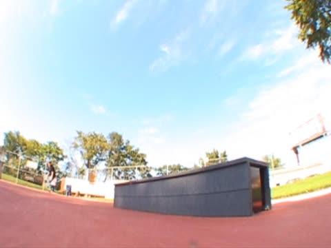 skateboarder Blunt Slide ledge skateboarder Blunt Slide ledge less than 10 seconds stock videos & royalty-free footage