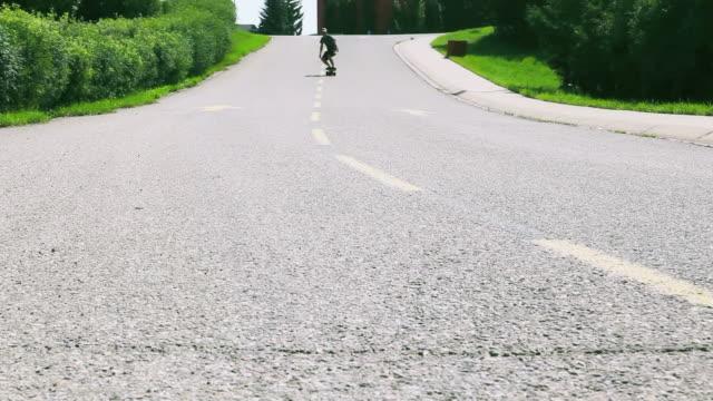 HD: Skateboarder Falling  tripping falling stock videos & royalty-free footage