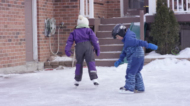 Skating After Freezing Rain video