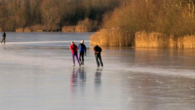Skating on natural ice 14 video