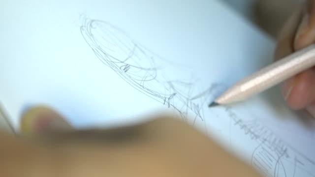 sketch - набросок стоковые видео и кадры b-roll