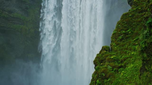 Skógafoss Waterfall in Iceland video