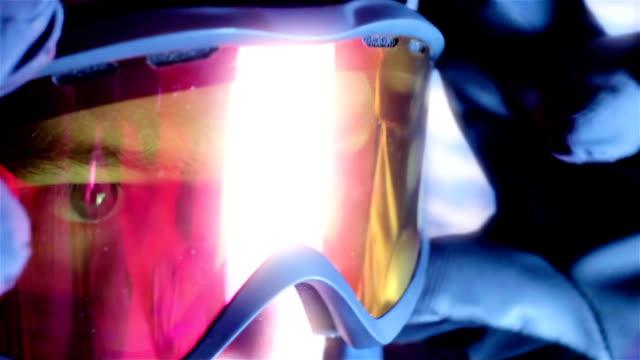 лыжный googles - google стоковые видео и кадры b-roll