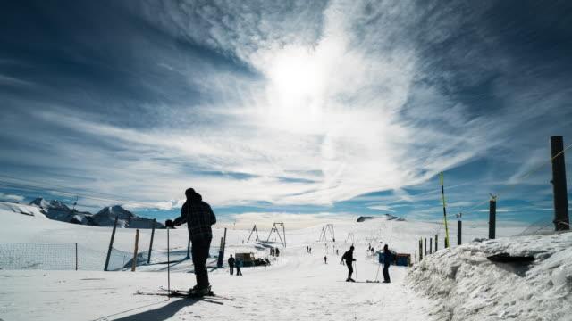 Ski Slopes. video