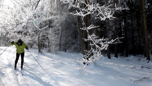 skier video