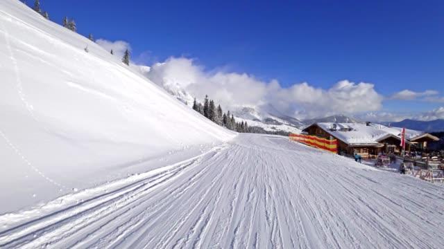 POV: Skiing in Muehlbach, Austria video