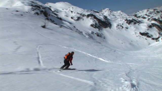 HD: Skiing In The Countryside video