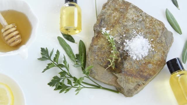 Skin care products with natural products and extracts . Healthy organic remedy, superfood for the skin
