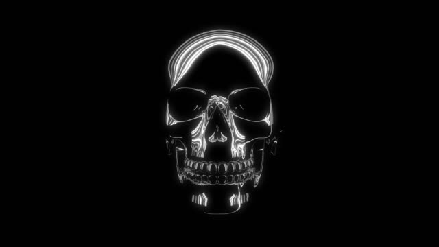 Skull 3D animated skull for your projects and clips skull stock videos & royalty-free footage