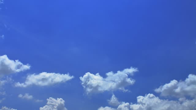 空と雲の時間経過 - 希望点の映像素材/bロール