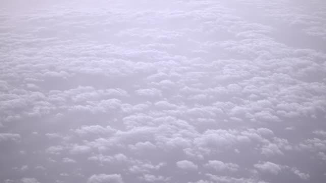 himmel och moln ovanifrån från flygplan - earth from space bildbanksvideor och videomaterial från bakom kulisserna