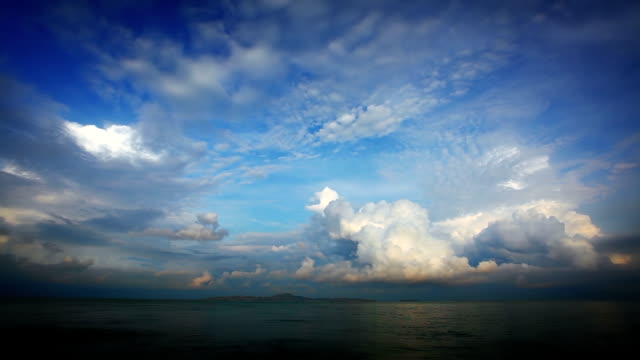 Sky and sea video
