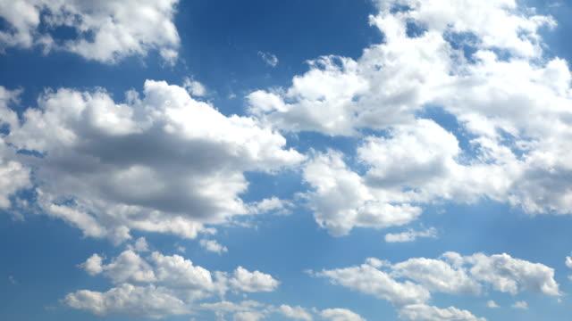 sky cloud time lapse - passare davanti video stock e b–roll