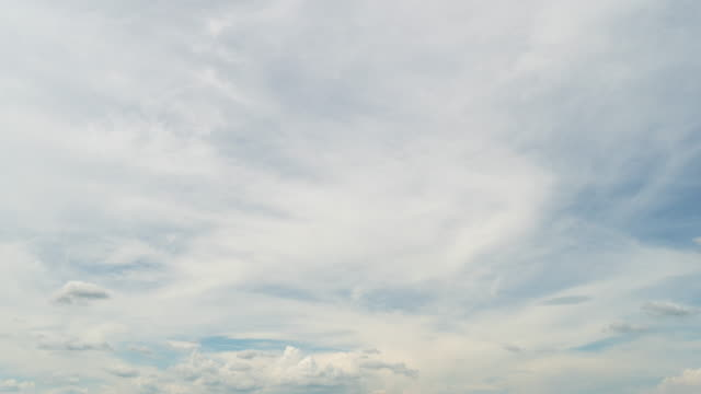 Sky clouds moving Time lapse