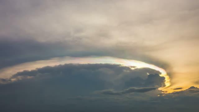 スカイ効果 - 層積雲点の映像素材/bロール