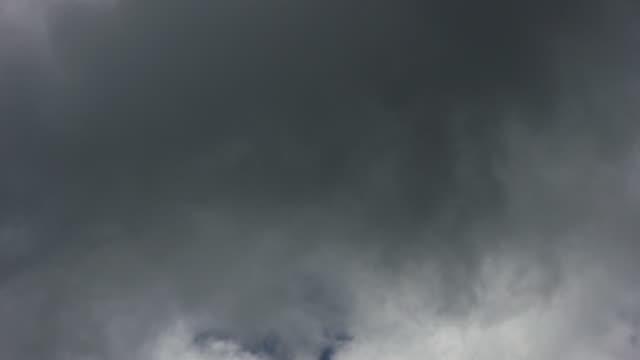 Sky gets cloudy, close-up timelapse -HD720, NTSC, PAL video