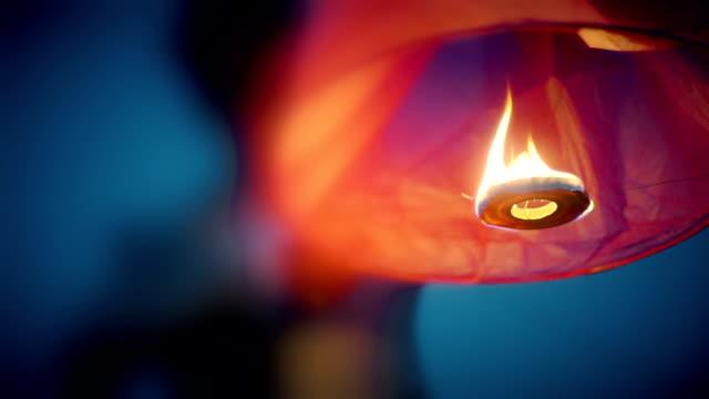 Sky lanterns. Sky lanterns. lantern stock videos & royalty-free footage
