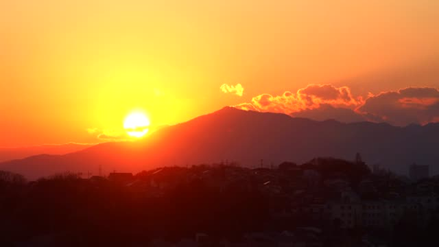 Sky of sunset