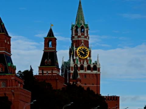 sky over kremlin - i̇badet yeri stok videoları ve detay görüntü çekimi