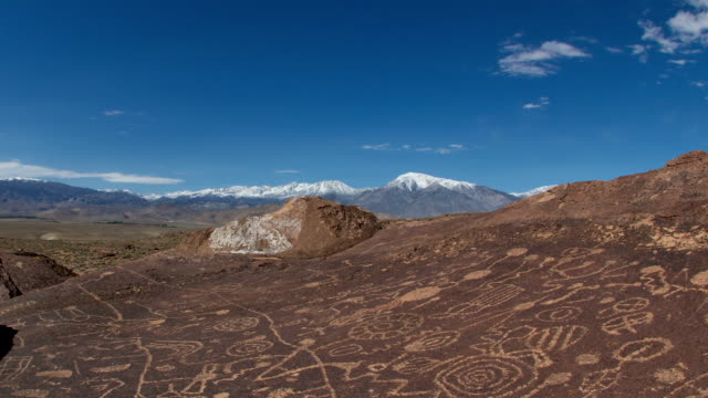 Sky Rock Petroglyph video