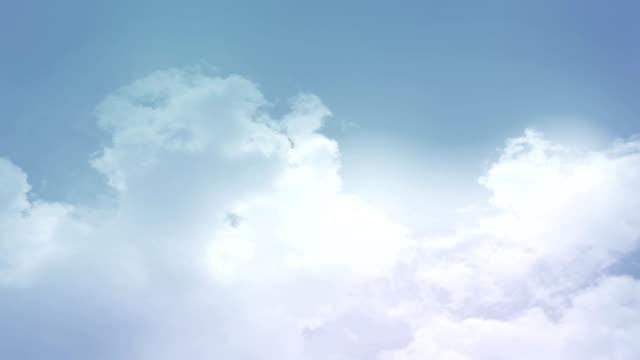 Sky Soft Blue Background video