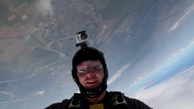 Skydiving video. video