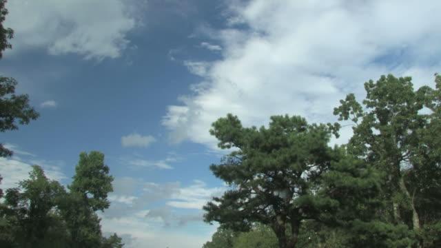 skylapse 001 -hd 30 f - ローアングル点の映像素材/bロール