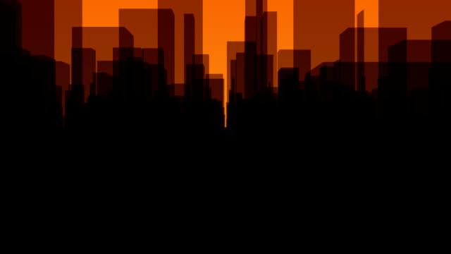 Skyline Background video