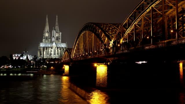 Skyline Dom Cologne (Köln) - time lapse video