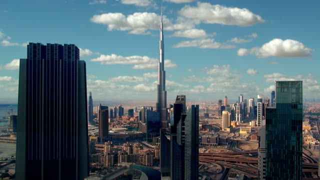 Skyline - Dubai, UAE video