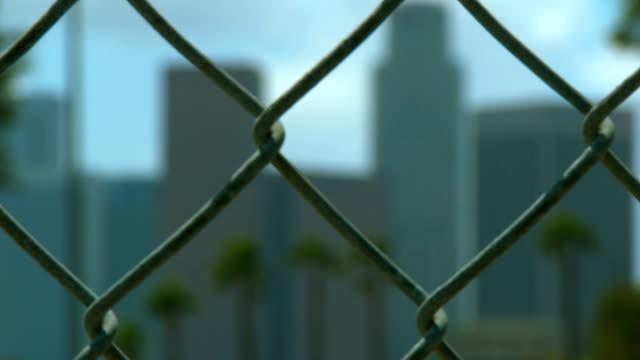 DTLA Skyline Fence video