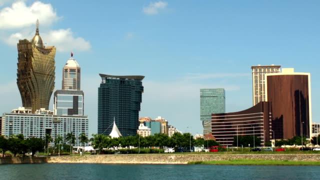 Skyline - Macau, SAR video