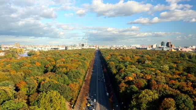 skyline of berlin - berlin city bildbanksvideor och videomaterial från bakom kulisserna