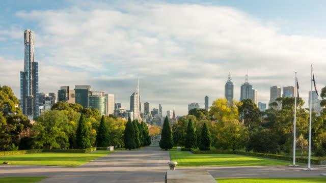 Skyline of Melbourne video