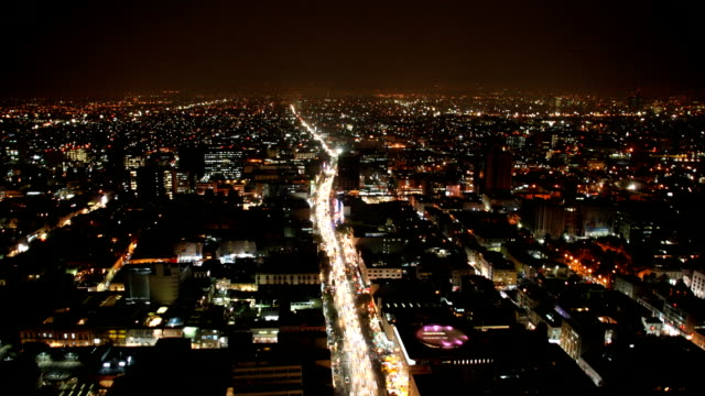 Skyline of Mexico City during Rush Hour (Time Lapse) video