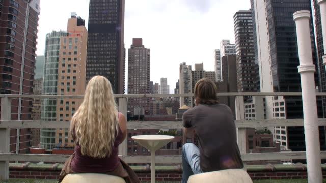 Skyline of New York video