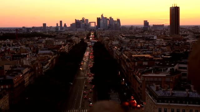 スカイライン パリ ラ ディフェンス ビデオ