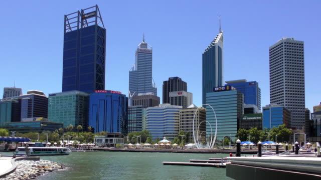 スカイライン - パース、オーストラリア - オーストラリア点の映像素材/bロール