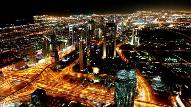 Skyline Time Lapse in Dubai video