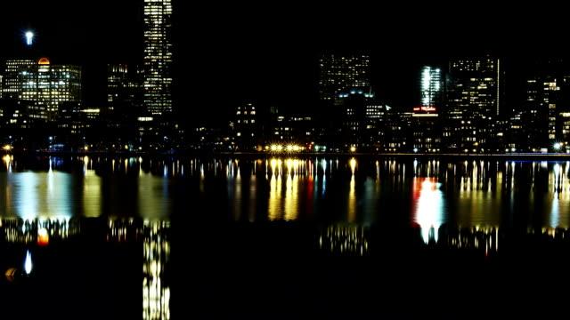 Skyline Time lapse Nightview Cambridge video