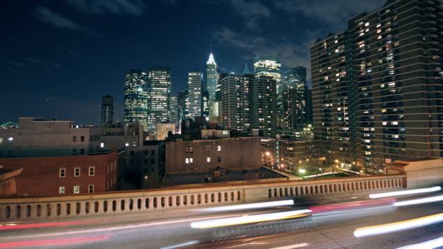 NYC Skyline timelapse - Financial Distict