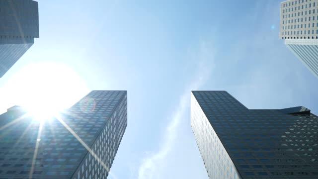 Skyscraper building at singapore