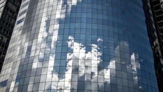 Skyscraper Office Windows Reflected video