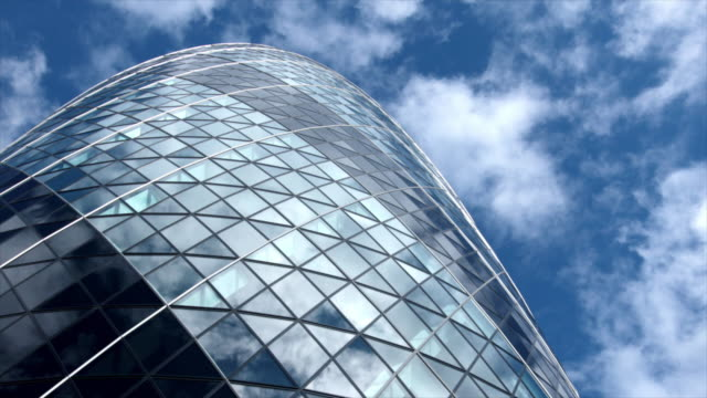 skyscraper reflection - london architecture stock videos & royalty-free footage