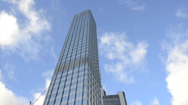 Skyscraper.European Central Bank.ECB, EZB HD video