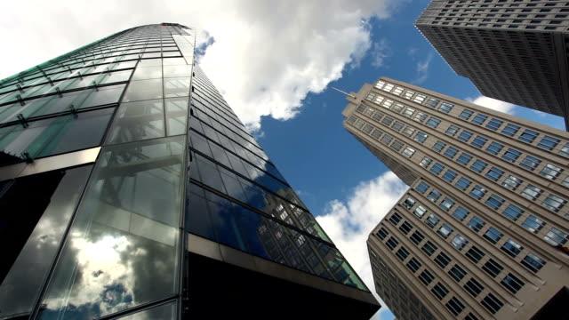 Skyscrapers in Berlin - time lapse video