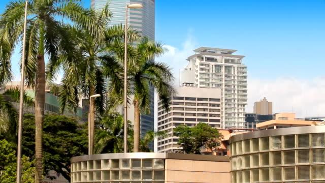 Skyscrapers in Kuala Lumpur video